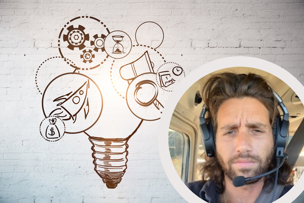 A person with headphones on Description automatically generated with low confidence